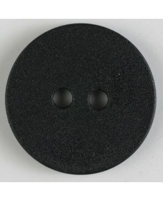 polyamide button with 2 holes - Size: 20mm - Color: black - Art.No. 261193