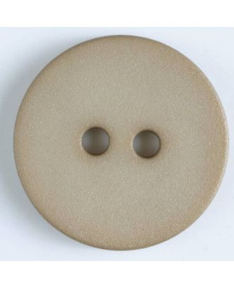 polyamide button with 2 holes - Size: 20mm - Color: beige - Art.No. 267601