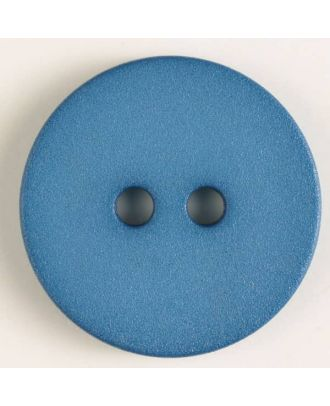 polyamide button with 2 holes - Size: 20mm - Color: blue - Art.No. 267604