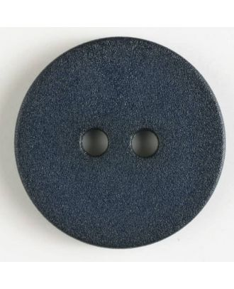 polyamide button with 2 holes - Size: 20mm - Color: navy blue - Art.No. 261194