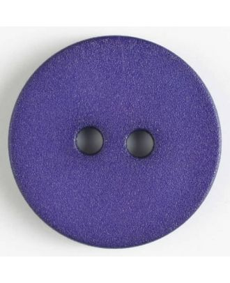 polyamide button with 2 holes - Size: 20mm - Color: lilac - Art.No. 267605