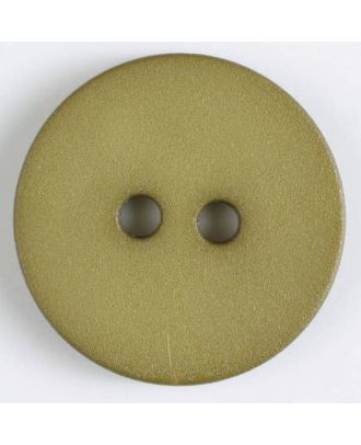 polyamide button with 2 holes - Size: 20mm - Color: green - Art.No. 267606