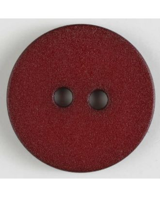 polyamide button with 2 holes - Size: 20mm - Color: wine red - Art.No. 267607