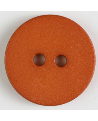 polyamide button with 2 holes - Size: 20mm - Color: orange - Art.No. 267608