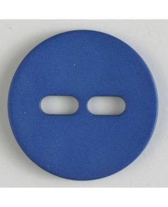 polyamide button with 2 holes - Size: 38mm - Color: blue - Art.No. 377612