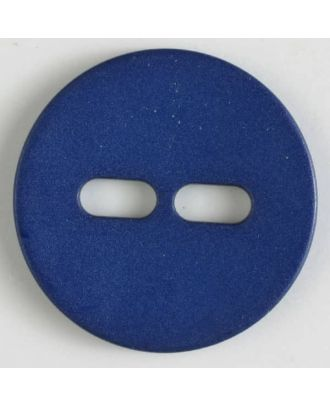 polyamide button with 2 holes - Size: 38mm - Color: navy blue - Art.No. 370610