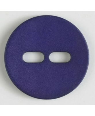 polyamide button with 2 holes - Size: 28mm - Color: lilac - Art.No. 347613
