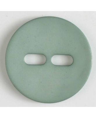 polyamide button with 2 holes - Size: 38mm - Color: green - Art.No. 377614