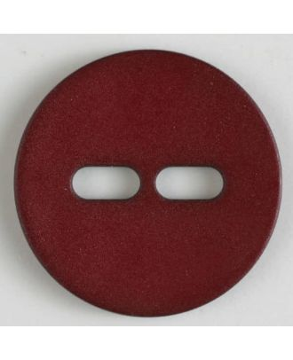polyamide button with 2 holes - Size: 38mm - Color: wine red - Art.No. 377615
