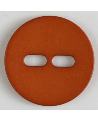 polyamide button with 2 holes - Size: 28mm - Color: orange - Art.No. 347617