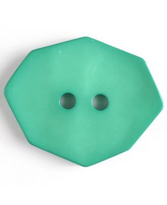 polyamide button 2 holes - Size: 50mm - Color: green - Art.No. 450155