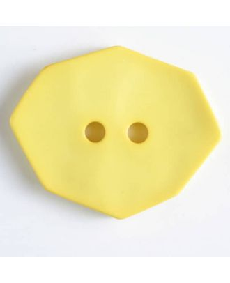 polyamide button 2 holes - Size: 50mm - Color: yellow - Art.No. 450159