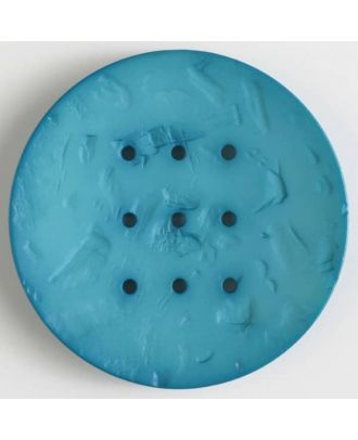 polyamide button with  9 holes - Size: 60mm - Color: green - Art.No. 410199