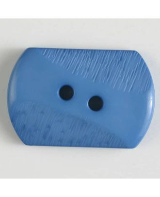 polyamide button with 2 holes - Size: 34mm - Color: blue - Art.No. 377604