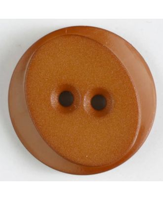 polyamide button with 2 holes - Size: 18mm - Color: beige - Art.No. 267618
