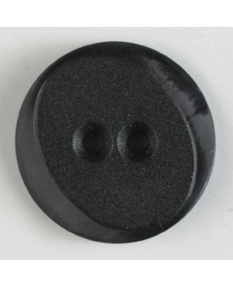polyamide button with 2 holes - Size: 30mm - Color: brown - Art.No. 347620