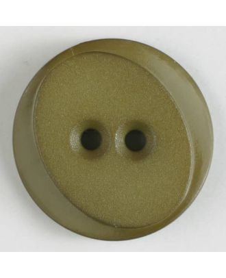polyamide button with 2 holes - Size: 30mm - Color: green - Art.No. 347623