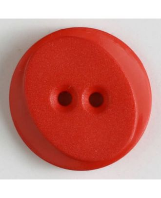 polyamide button with 2 holes - Size: 30mm - Color: red - Art.No. 341064