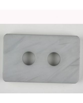 polyamide button, 2 holes - Size: 55mm - Color: grey - Art.-Nr.: 453700