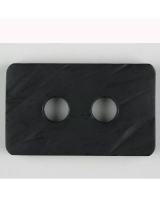 polyamide button, 2 holes - Size: 55mm - Color: black - Art.-Nr.: 450180