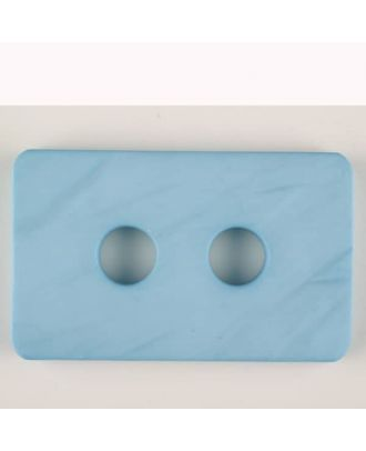 polyamide button, 2 holes - Size: 55mm - Color: blue - Art.-Nr.: 453704