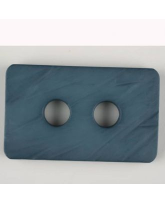 polyamide button, 2 holes - Size: 55mm - Color: blue - Art.-Nr.: 453706
