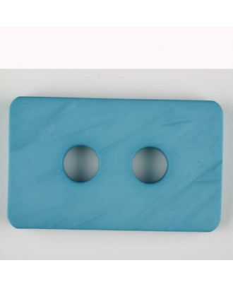 polyamide button, 2 holes - Size: 55mm - Color: blue - Art.-Nr.: 453707