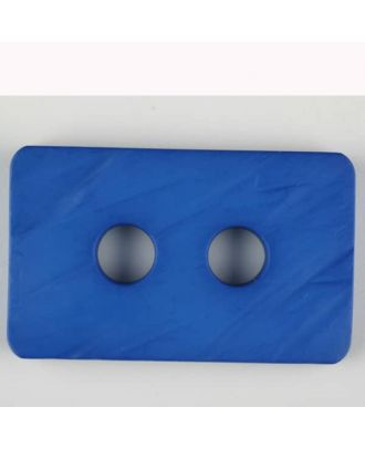 polyamide button, 2 holes - Size: 55mm - Color: blue - Art.-Nr.: 453705