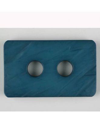 polyamide button, 2 holes - Size: 40mm - Color: blue - Art.-Nr.: 403708