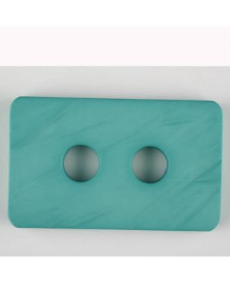 polyamide button, 2 holes - Size: 55mm - Color: green - Art.-Nr.: 453711
