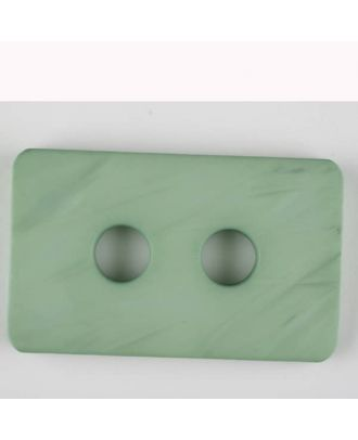 polyamide button, 2 holes - Size: 55mm - Color: green - Art.-Nr.: 453712