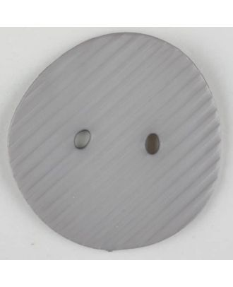 polyamide button, 2 holes - Size: 25mm - Color: grey - Art.-Nr.: 313713