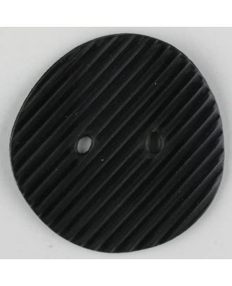 polyamide button, 2 holes - Size: 34mm - Color: black - Art.-Nr.: 370710