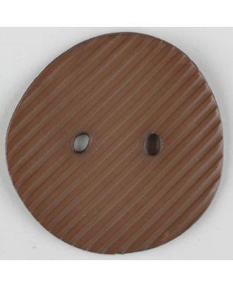 polyamide button, 2 holes - Size: 25mm - Color: beige - Art.-Nr.: 313716