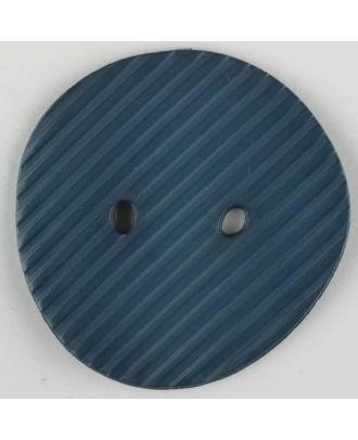 polyamide button, 2 holes - Size: 34mm - Color: blue - Art.-Nr.: 373736