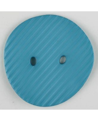 polyamide button, 2 holes - Size: 34mm - Color: blue - Art.-Nr.: 373737