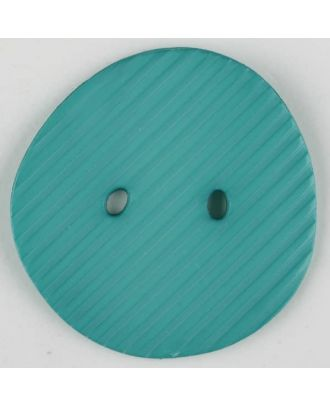 polyamide button, 2 holes - Size: 34mm - Color: green - Art.-Nr.: 373740
