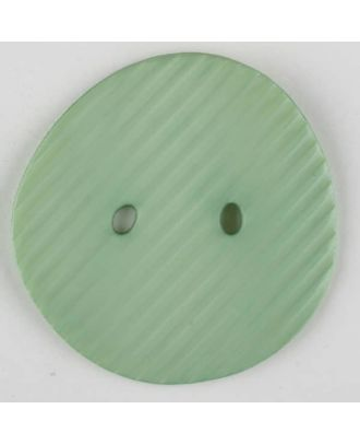 polyamide button, 2 holes - Size: 34mm - Color: green - Art.-Nr.: 373741
