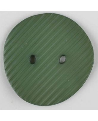 polyamide button, 2 holes - Size: 34mm - Color: green - Art.-Nr.: 373742