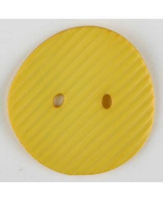 polyamide button, 2 holes - Size: 25mm - Color: yellow - Art.-Nr.: 313728