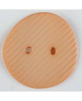 polyamide button, 2 holes - Size: 34mm - Color: orange - Art.-Nr.: 373746
