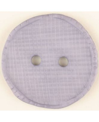 polyamide button, round, 2 holes - Size: 23mm - Color: lilac - Art.No. 315761