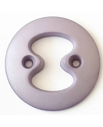 polyamide button with 2 holes - Size: 34mm - Color: purple - Art.No. 378718