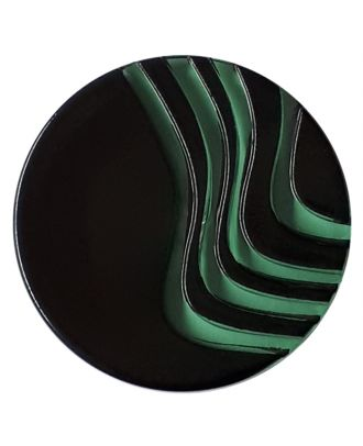 acrylic glass  button with shank - Size: 20mm - Color: gentle/light green - Art.No. 338242