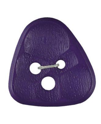 polyamidbutton triangle comb 3-hole - Size: 20mm - Color: lilac - Art.No. 283804