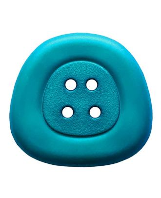 polyamidbutton  4-hole trapezoid - Size: 32mm - Color: royal blue - Art.No. 373820