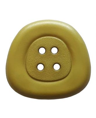 polyamidbutton  4-hole trapezoid - Size: 32mm - Color: green - Art.No. 373822