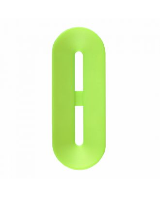 polyamide button toggle-shaped with 2 holes - Size: 25mm - Color: light green - Art.-Nr.: 346807