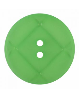 acrylic glass button round shape with matt surface and 2 holes - Size: 23mm - Color: light green - Art.-Nr.: 346855