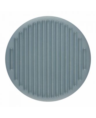 polyamide button round shape with fine structure on the surface and shank - Size: 25mm - Color: blue - Art.-Nr.: 346815